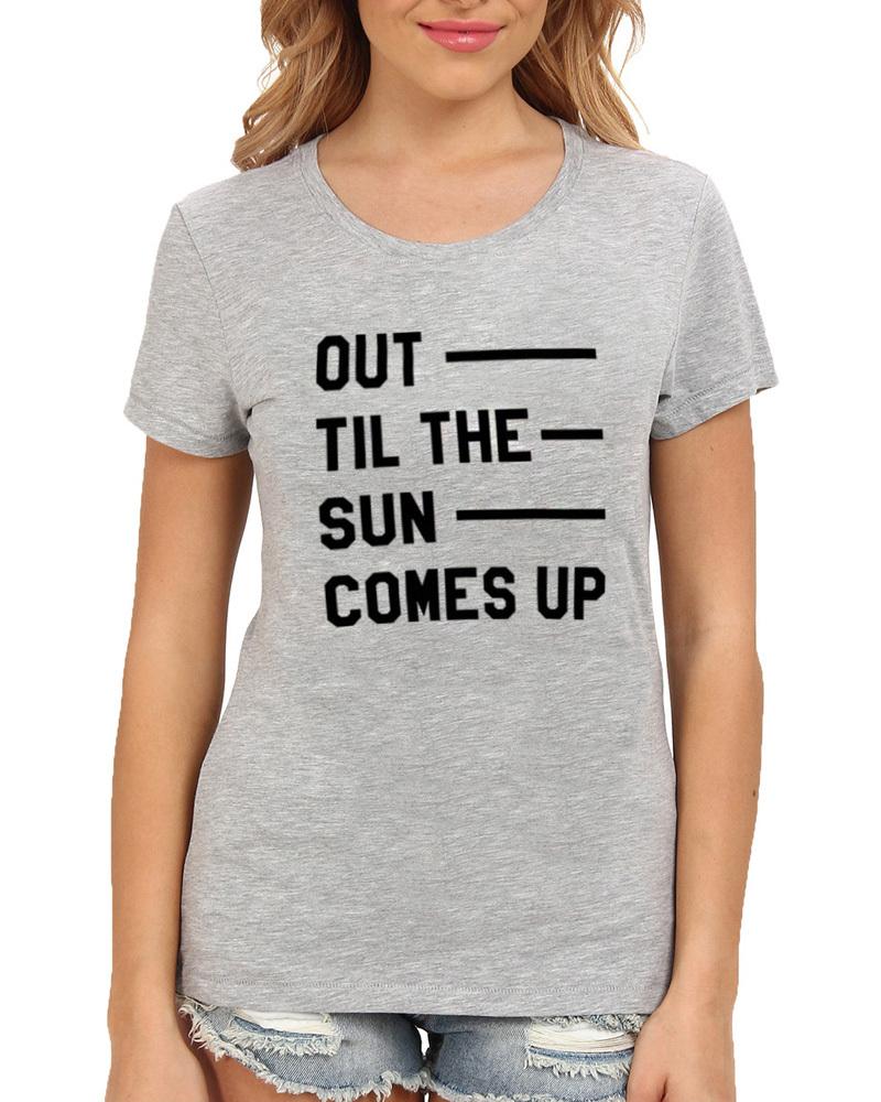 Slogans Shirts Shirts Gray Slogan t Shirt