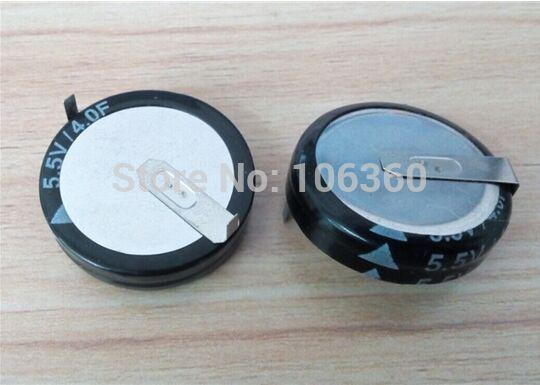 free shipping 10pcs/lot 5.5v 4F farad capacitor 4f super capacitor H type(China (Mainland))