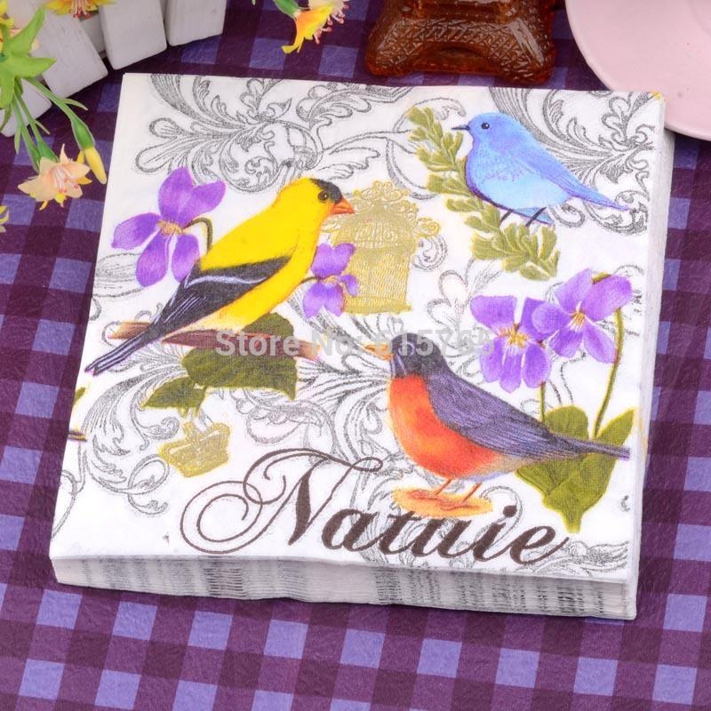Bar patterned Bandanna Color printing paper handkerchief Colorful banquet napkins Free shipping(China (Mainland))