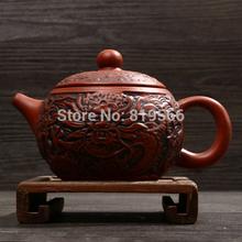 new handmade zisha clay teapot chouzhou purple sand kung fu ceramic tea pot set chinese antique dragon gift limited sale