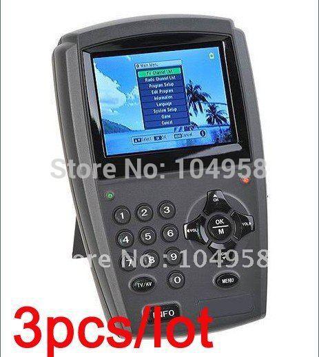 "3.5"" LCD Handheld Digital Satellite Signal Finder Meter DirecTV Dish FTA LNB Sat Free Express 3pcs/lot(China (Mainland))"