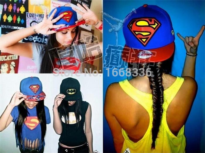 Classic Superman Snapback Cap Wholesale Fashion Korean Hiphop Cap Free Shipping Jordan Snapback Cap and Hat(China (Mainland))