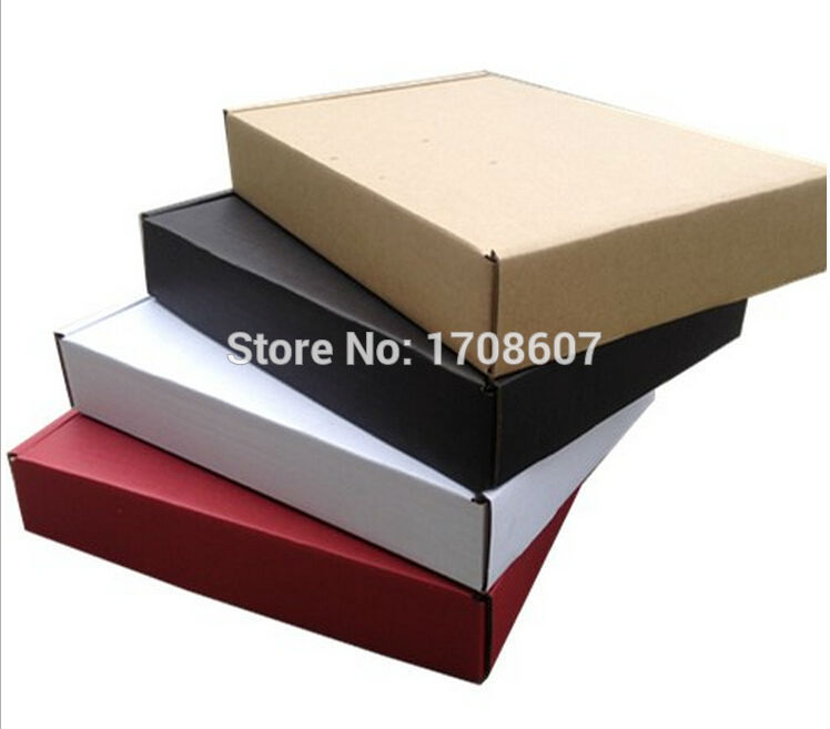 Free Ship hot sale Size 30*20*5cm Paper Packaging Carton Corrugated Box,gift packing carton boxes wholesale(China (Mainland))