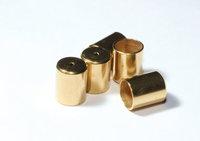 40 Pcs Raw Brass Cone (8mm) - Funnel - End Cap - Bead Cap