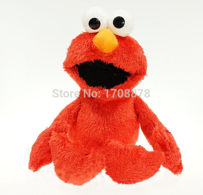 30CM Cartoon Sesame Street Elmo Plush Toys Soft Stuffed Dolls Children Gifts(China (Mainland))