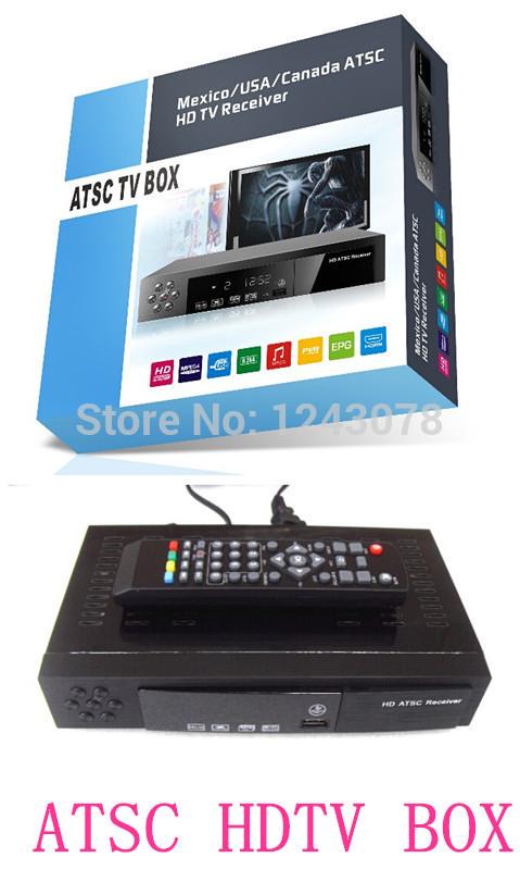 ATSC TV BOX HDTV Receiver Digital Converter BOX for America Canada Mexico(China (Mainland))