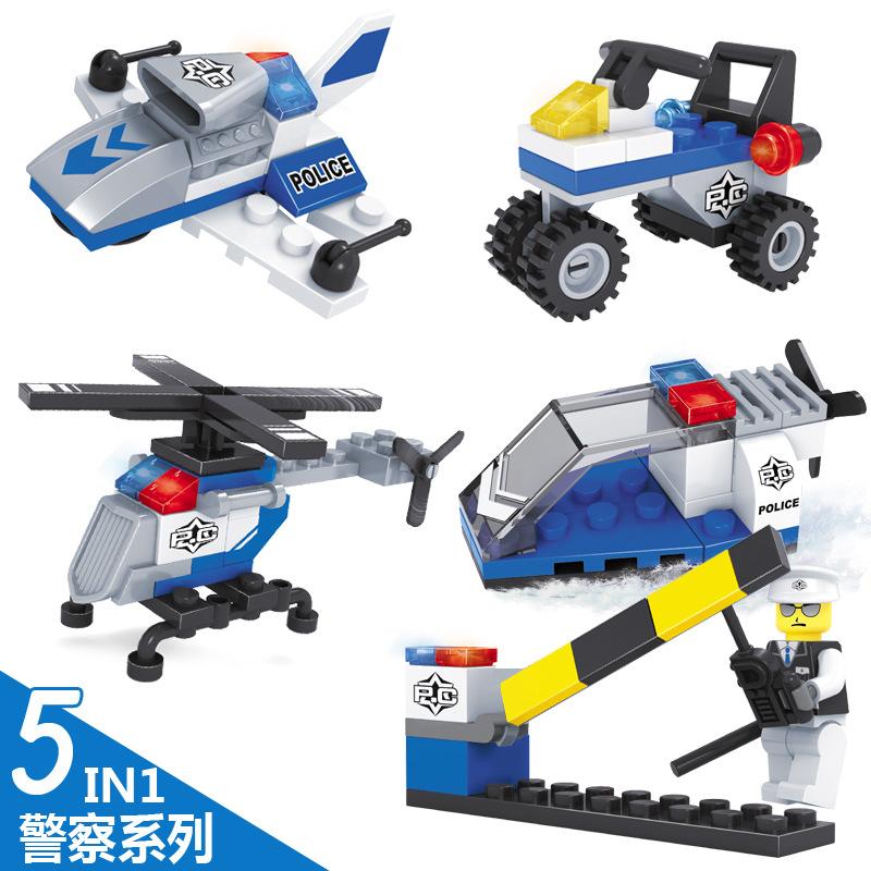 5pcs/lot Simplebox Sluban Air bus Plane aviation Building Blocks Transport enlighten aircraft vehicle Toys Bricks set for kid(China (Mainland))