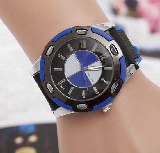 2015 the latest car watches Mercedes-Benz bmw Car logo watches Quartz men watches fashion brand(China (Mainland))