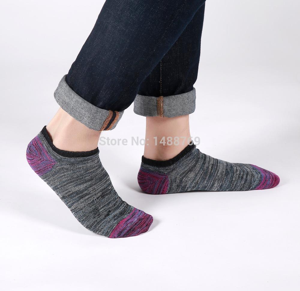 New Arrival 5 pairs /lot Four Seasons General Men's Cotton Ankel Socks Kit Mixcolor Mini Striped Pattern Brand Men's Brand Socks(China (Mainland))
