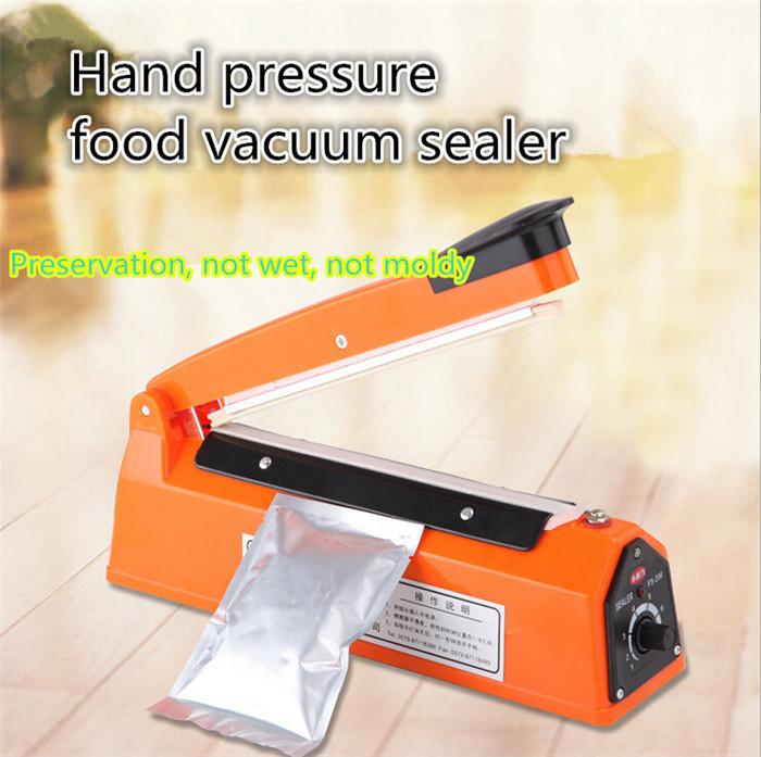 Hot sale food sealer mini plastic sealing machine heatinging Kitchen Machine Home House Vacuum Food Sealer I-22 free shipping(China (Mainland))