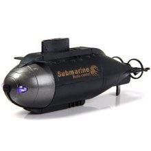 859-ad рыба торпедо дизайн Pigboat 40 мГц подводная лодка управления по радио модель игрушки ( черный )