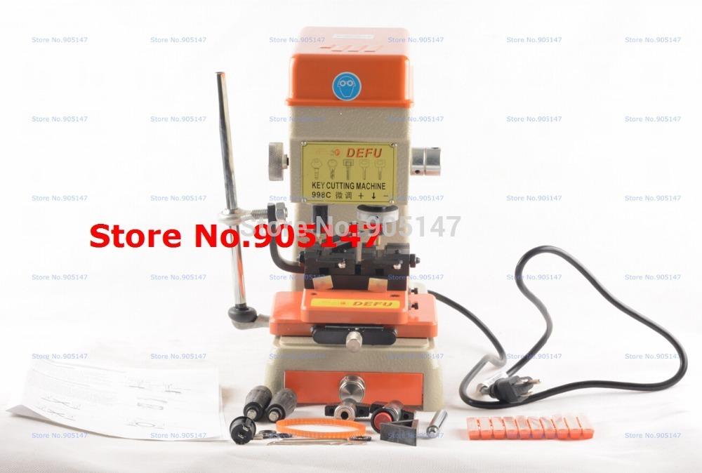 998C universal key cutting machine for door and car key Cutting Machine Locksmith Equipment(China (Mainland))