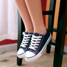 Zapatos mujer студент брезент спорт обувь кружево — вверх на открытом воздухе обувь женщины кроссовки