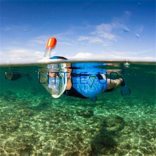Трубка для плавания с маской под водой NEW 2015 Tribord Easybreath L/XL AS100709
