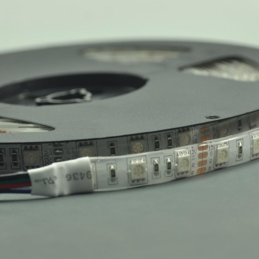 RGB Waterproof LED Flexible 300LEDs Strip SMD5050 Multicolor Strip Light 12V 5 meter(16.4ft)(China (Mainland))