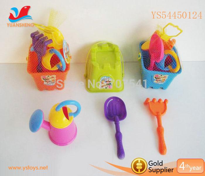Interesting Sand Beach Barrel Toys Summer Toy Kids Plastic Sand Shovels(China (Mainland))