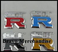 10sets/lot 5*6.5cm Zinc alloy automobile decoration car styling tuning gtr mark sign logo brands emblem badge sticker decals