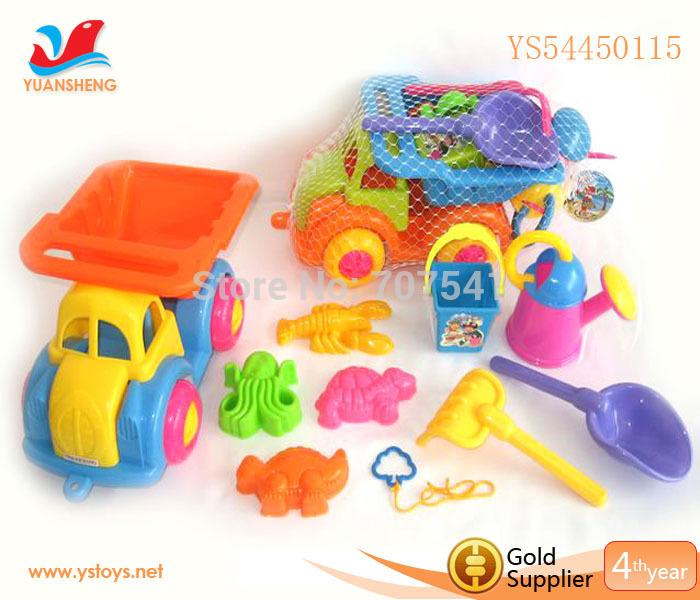 Interesting Summer Outdoor Toy Bucket Truck Toy Dump Truck Toy Trailer Truck Toy(China (Mainland))