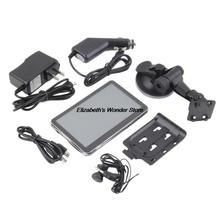 1set 5″ TFT LCD 4GB GPS Auto Navigation Navigator System Car FM MP3 MP4 Map