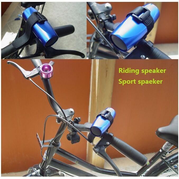 Mini Portable USB Micro SD TF Speaker Music Player FM Radio Stereo sport Speaker bike riding small subwoofer(China (Mainland))