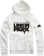 Wholesale retail dropship supporting Kids clothes age of 3~12 linkin park letter hoodies MINUTES TO MIDNIGHT sweatshirts (China (Mainland))