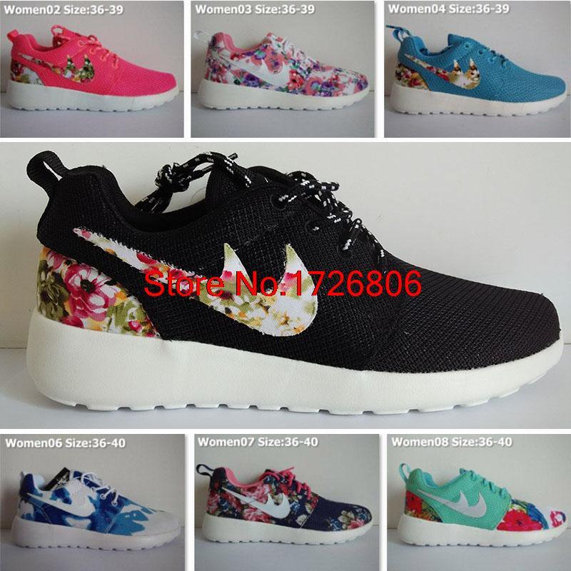Nike Roshe Run Mujer Flores