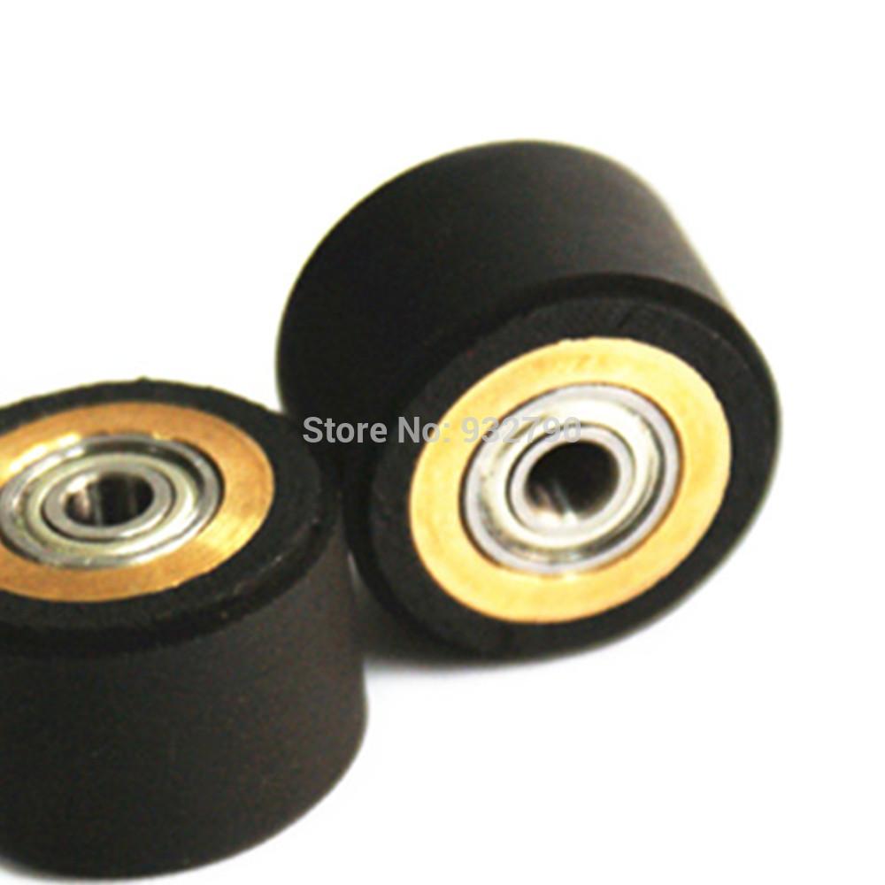Pinch Roller 3x11x16mm Roller Bearing Pinch Wheel Roller For Roland Graphtec Rabbit Cutting Plotter Vinyl Cutter Professional(China (Mainland))