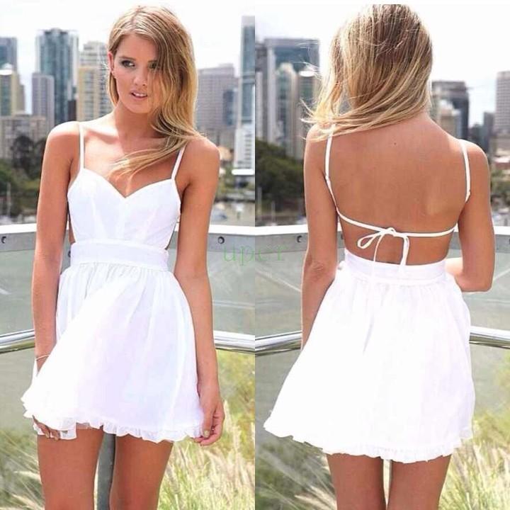 Short summer dresses for women