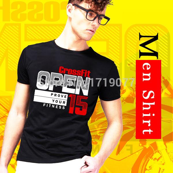 Men T Shirts Fashion Top Crossfit Graphic Tees Printed Camisetas Cotton Tshirts Crew Neck Man Clothing Cotton Short Sleeve S-XXL(China (Mainland))