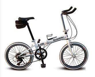 Bicycle 20-inch folding bicycles seven-speed folding bikes road handlebar T ten-speed bicycle mjj001(China (Mainland))