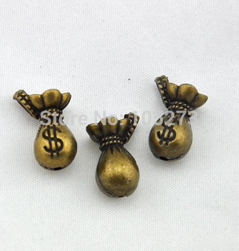 Dollar Purse Charm 8pcs Antique Bronze Dollar Purse Charm Pendants 14x21mm - New Arriver DIY Jewelry Findings(China (Mainland))