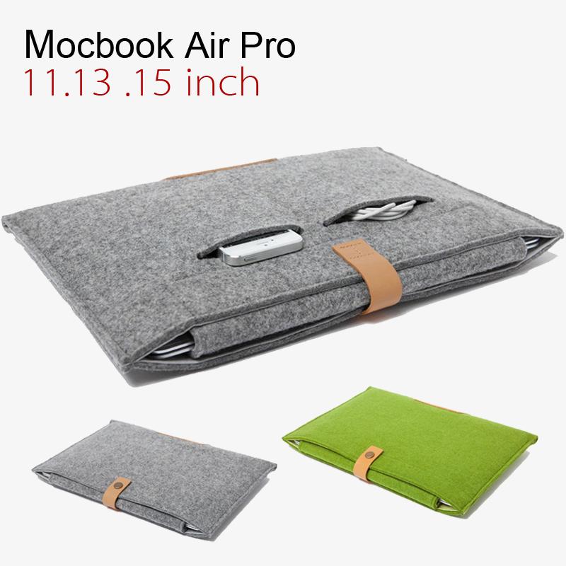 WOOL FELT Lenovo laptop bag Suitable for 11 12 13 14 15 inch laptop bag fashion portable Universal laptop bag sleeve laptop case(China (Mainland))