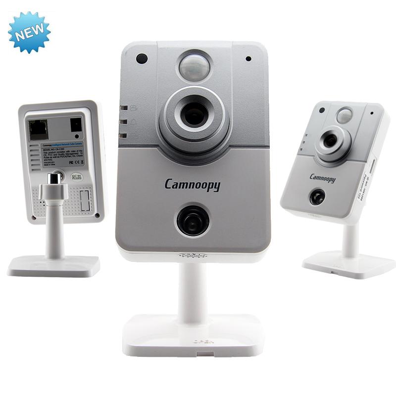IP Camera Wifi Wireless Security Camera Night Vision 1080*720P 1.0MP HD CMOS Phone Remote Control Security Guard Alarm CN-C200(China (Mainland))