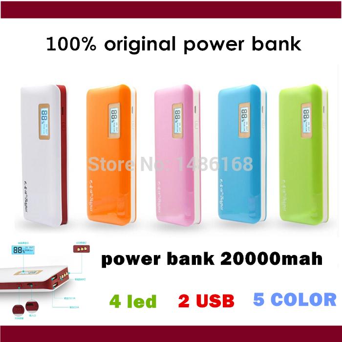 Зарядное устройство Others 100% /20000m LCD power bank 20000mah зарядное устройство others 100000 iphone6 5 smausng htc xiaomi power bank 100000mah
