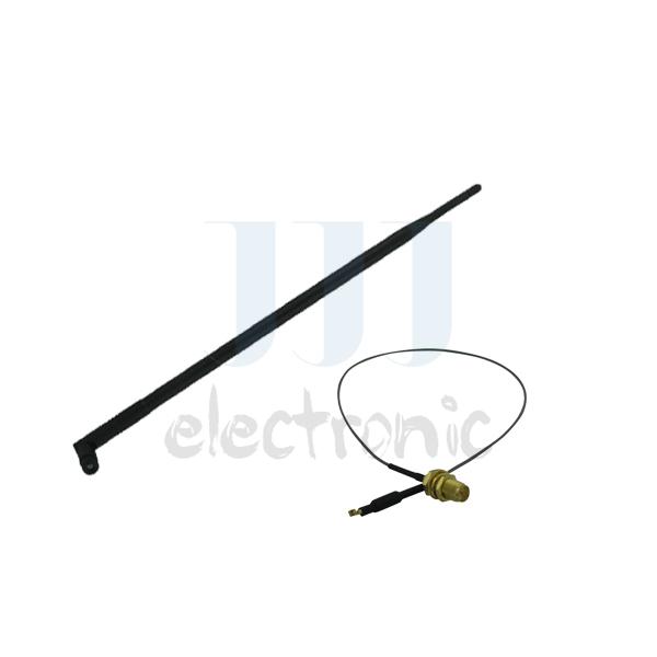 1 9 dBi RP-SMA 2.4 ~ 5.8 GHz antena wi fi + 1 U fl para Mod Netgear WNDR4500 WNR834B v(China (Mainland))