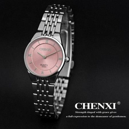 Genuine CHENXI business casual Women's stainless steel watch womens waterproof watch Girls Women Dress Quartz Watches QW5931(China (Mainland))