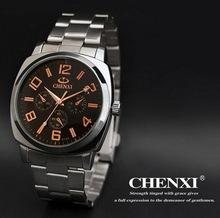 New Full Steel Watches Men Quartz Sports Casual Fashion Brand Relogio Watches Clock Male Gift QN3783