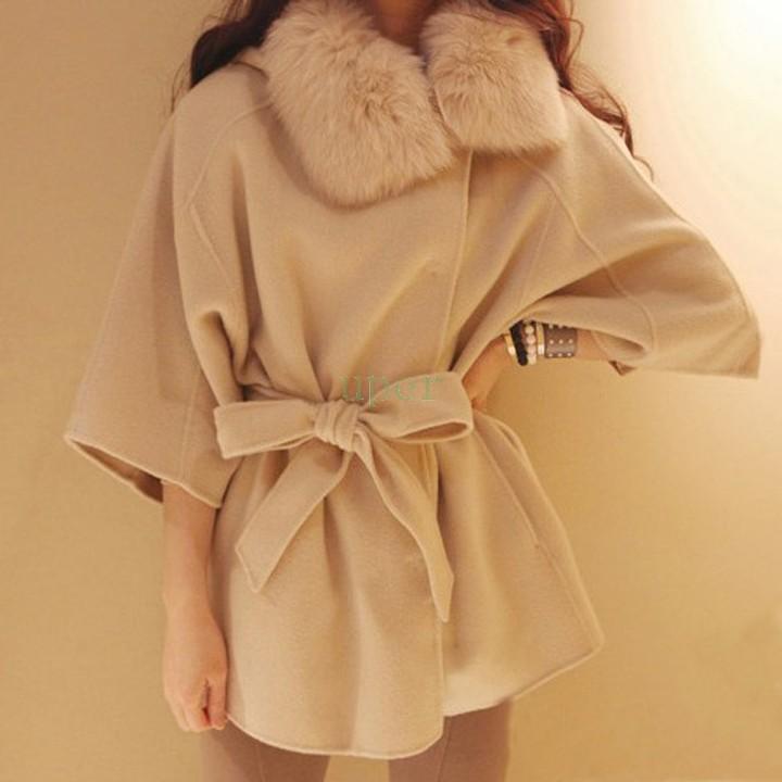 Женская одежда из шерсти Women coat 3/4 women 3/4 Sleeve coat  женская одежда из шерсти women coat 2015
