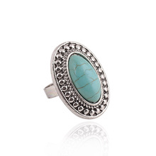 R116 Wholesale 4 styles randomly send Nation Bohemian style Turquoise Ring jewelry for women 2015 randomly