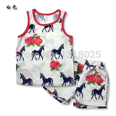 Комплект одежды для девочек Brand new 2015 yy38 шорты для девочек brand new 2015