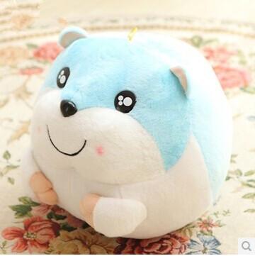 New Super Cute Hamster Stuffed Plush Doll Toys Kawaii Mouse Kid's Birthday Gift(China (Mainland))