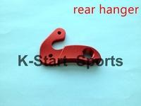 Alloy silver/black/red Road Bike Mountain Bicycle Rear Derailleur Hanger Hook Parts  road bike parts