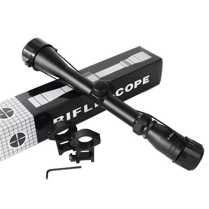 Винтовочный оптический прицел Baistra 1Set 3/9 X 40 Airsoft 2 3-9*40 with free scope