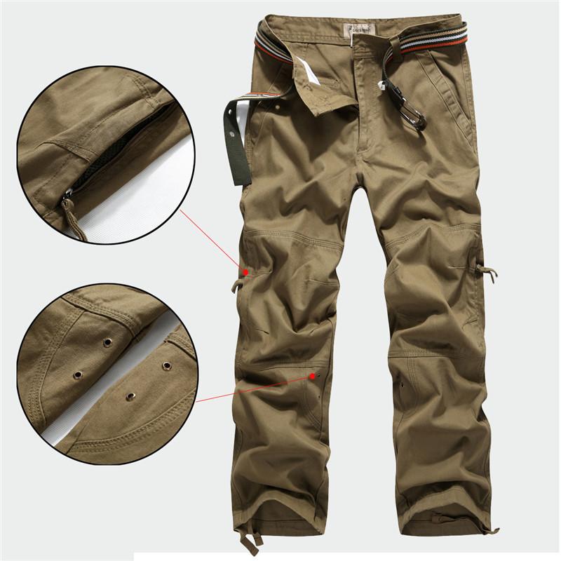 Baggy Khaki Cargo Pants For Men Mens Cargo Pants Fashion 2015