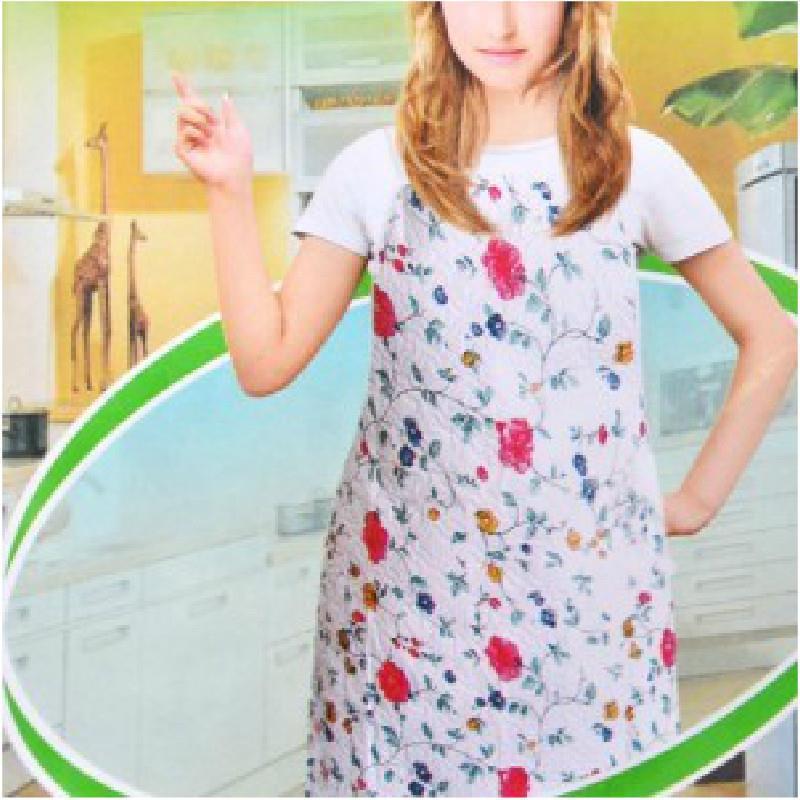 Multifunction waterproof anti-oil domestic printing Apron(China (Mainland))