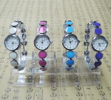 2015 Fashion New Retro High Quality Women Jewelry Wristwatch Discs Strung Watchband Five Colors For Choose Quartz Watch