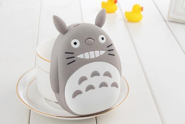 30pcs 12000mAh USB Portable Battery Pack Power Bank Totoro 3D Cartoon Design For iPhone Samsung Galaxy all Mobile Phone(China (Mainland))
