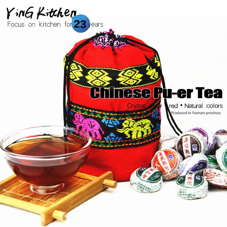 Promotion 50 pcs Flavor Pu er Pu erh tea Mini Yunnan Puer tea Chinese tea With