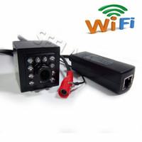 960P Wireless Mini IR Wifi IP camera Mini POE Camera 940nm Led Ir Ip Camera With Ir Cut cctv camera Night Vision