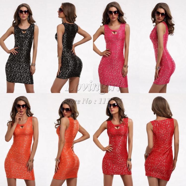 Женское платье Brand New 2015 Bodycon Clubwear 9007